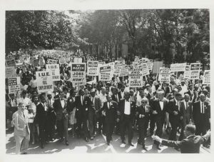 Martin Luther King Jr. March for voting rights